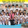 SFAMSC Class Photos SY 2009-2010