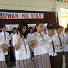 """by Teacher Jonalyn Rose Bagay <br /> <br /> One of the goals of education is to teach the importance of our identity as Filipinos. That is why St. Francis of Assisi Montessori School of Cainta celebrates Buwan Ng Wika (Language Week) to help teach the spirit of nationalism among our Filipino students and give our international students a more vivid demonstration of the rich literary culture of the Philippines.<br /> <br /> Celebration of Buwan ng Wika will stretch from August 25 to 29. The activities were dancing and singing contests that interpreted the local Filipino culture. We also had a """"salu-salo"""" or feast where students brought native delicacies, and they feasted on them together with their teachers. We also had an art activity that showcased Philippine culture. Each level was assigned to perform these activities with different kinds of presentation and themes."""