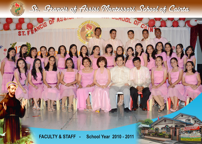 SFAMSC Class Photos SY 2010-2011