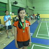 Last November 26, 2011, Sophia Angelique Chua of Gr. 6- Generosity won First place in the elementary division of the provincial badminton meet sponsored by the Rizal Private School Association (RIPRISA) held at the Aerodome badminton court in Rizal. Sophia fought her way to the championships beating representatives from Binagonan, Rizal, and Rodriguez. This is her first time competing in a tournament, yet she represented the school with pride and confidence. She became the champion with an overwhelming score of 21-11 against her opponent from San Mateo, Rizal. Her win opened a big opportunity for her in the field of badminton. She will soon be competing in invitational games and regional competitions. Congratulations Sophia for a spectacular performance!