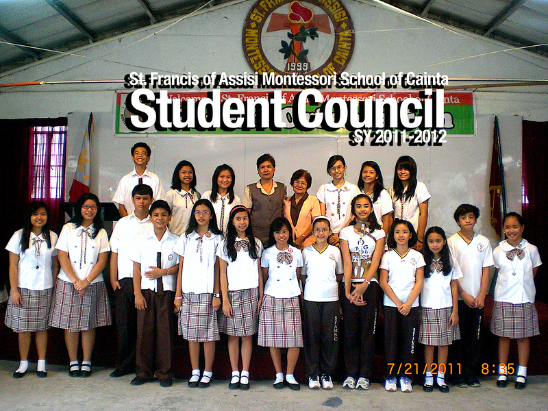 SFAMSC Student Council SY 2011-2012