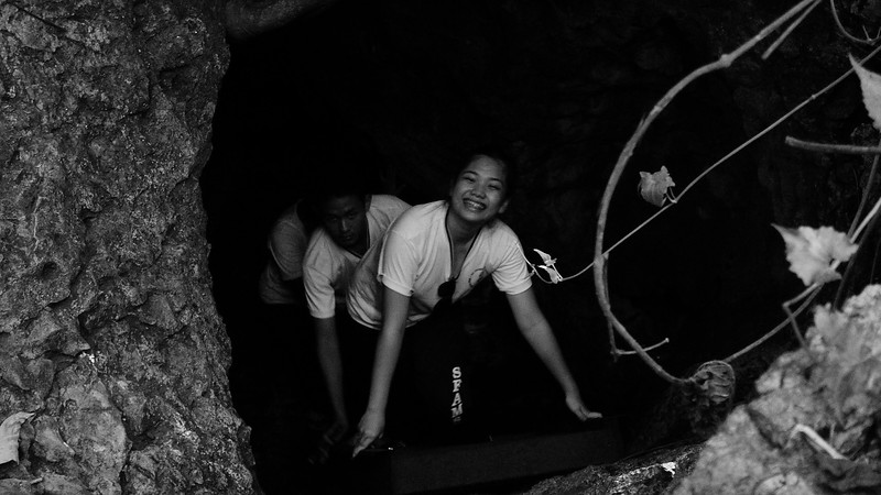 Last November 22, 2012, the SFAMSC High school students had so much fun visiting the famous Biak na Bato. Students not only enjoyed hiking in the forest, crossing through rivers, rappelling under bridges, and crawling through caves, but they also learned the deep past and science behind this historical location.