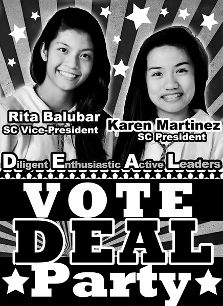 Student Council Campaign SY 2013-2014