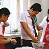 The Grade 8 students of SFAMSC enjoy baking and selling chocolate chips mini muffins to their fellow schoolmates as part of their Home Economics Entrepreneurship activity. This activity is designed to teach them the basics of running their own small scale food business. Great work Grade 8! Many thanks to Teacher Ellen Diaz for her guidance!
