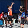 Here are some action photos of the mini 3 on 3 half court basketball tournament held at the SFAMSC court. The Foundation tournament is an activity held by Teacher Mario Follero and the Student Council to raise funds and celebrate SFAMSC's 16th foundation day. This is a special tournament where anyone interested can join to experience the excitement of a basketball tournament.