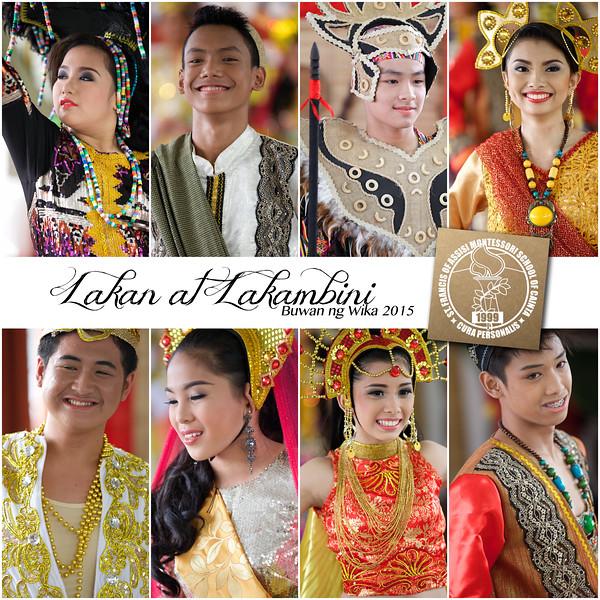 Lakan at Lakambini Portraits 2015-2016