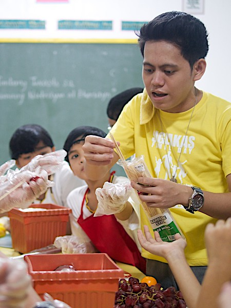 SFAMSC Nutrition Month Celebration Grades 4 to 6 SY 2015-2016