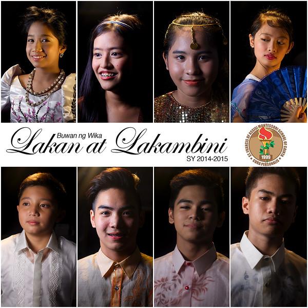 SFAMSC Lakan at Lakambini SY 2014-2015
