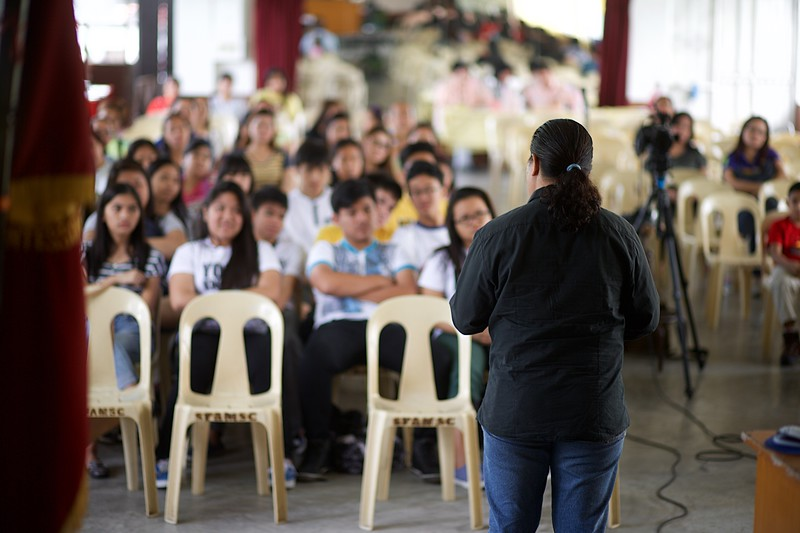 """Febuary 21, 2015 - Professor Emmanuel """"Mannny"""" A. Jataya give a very informative seminar on """"Guiding Your Child to the Right Career"""" during the Parent-Teacher Conference at St. Francis of Assisi Montessori School of Cainta.<br /> <br /> Professor Emmanuel """"Manny"""" A. Jataya graduated with a Bachelor's Degree in Economics at the Ateneo de Manila. He earned his Master of Arts in Christian Communications at the Asia-Pacific Nazarene Theological Seminary. Manny Jatayna worked as a writer-researcher for the Ateneo Center for Social Policy. After which, he served as Facilitator for World Vision in Palawan. As coordinator for Nazarene Communications Network for 4 years and for Trans World Radio in Baguio for 5 years, he worked on audio recordings, videos, and other media productions. For 3 years, he taught under the Department of English and Literature of the Lyceum of the Philippines. He is currently the Communications Officer of GuidanceNGO"""