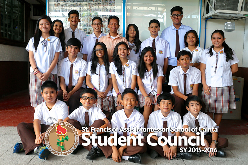 Student Council SY 2015-2016