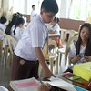 On July 26, 2016, the students of grades 1 to 10 St. Francis of Assisi Montessori School of Cainta cast their votes for their chosen candidates. The student election gives the student body the chance to choose their leaders and gives them a taste of the democratic process.<br /> Photos by Julia Mae Velasco