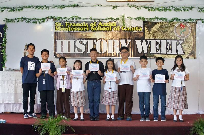 SFAMSC History Week 2016-2017