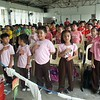 Here are the snap shots of the primary grade school students while they celebrated this year's Nutrition Month with a flurry of activities such as a dance performance (to teach them the importance of exercise) and a food preparation workshop - all designed to teach them the importance of good nutrition in a fun and exciting way.<br /> <br /> Photography by:<br /> Francesca Gonzales<br /> Joshua Velasco<br /> Nicole Punzalan<br /> Derek Felix