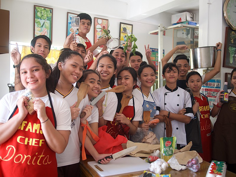 Grade 9 TLE Cooking Spring rolls and Siomai 2017