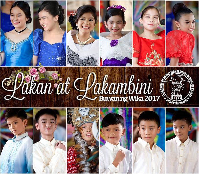 SFAMSC Buwan ng Wika 2017:  Lakan at Lakambini