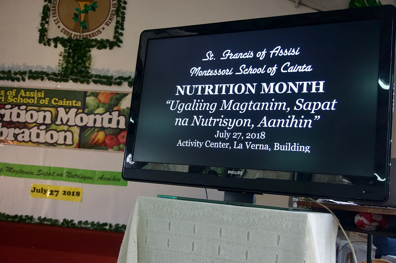 Last July 28, 2018, grade 4 to 10 students celebrated Nutrition Month by delicious and healthy meals. The purpose of nutrition month is to raise awareness and celebrate the importance of a healthy body and sound mind through healthy eating and healthy living.