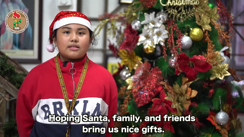 A Christmas Poem by the St. Francis Cainta Family 2019