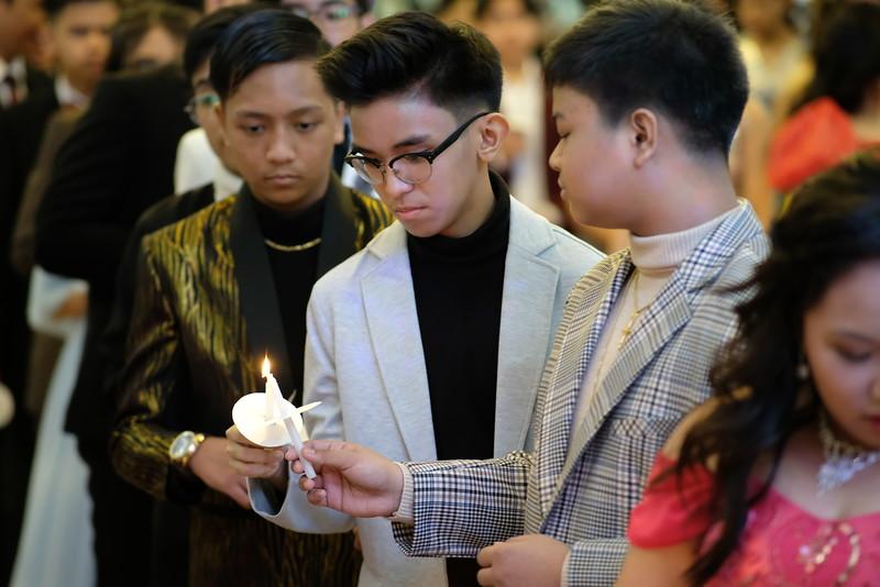 Junior High School Night 2020: Passing Down of the Symbols of Virtue