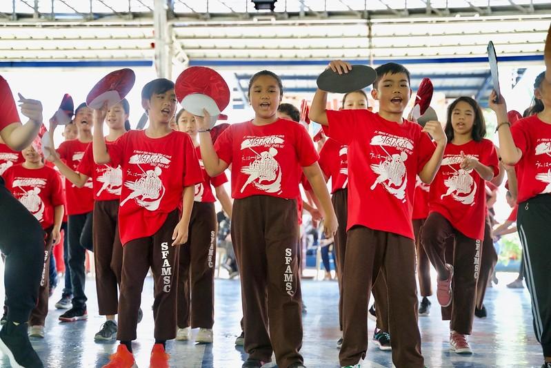 SIGLAKAS 2019:  Grade 4 to 10 Uchida Clan Cheer