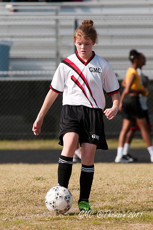 GMC coed soccer at Thomson 2011