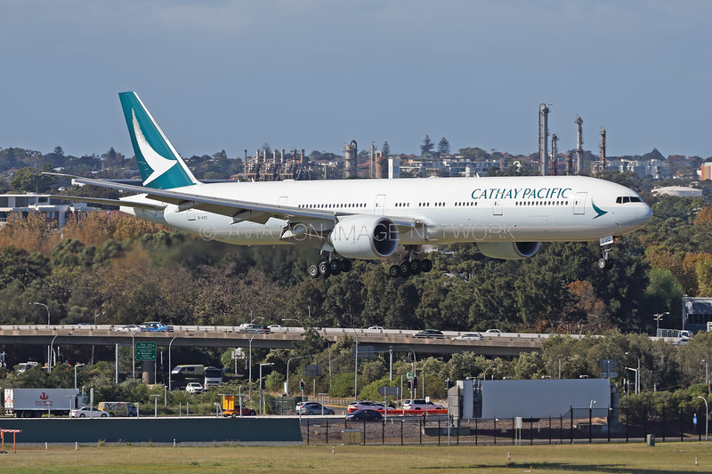 B-KPZ | Boeing 777-367/ER |  Cathay Pacific