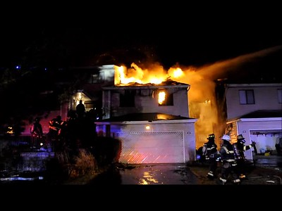 SYOSSET FD CONDO FIRE VIDEO