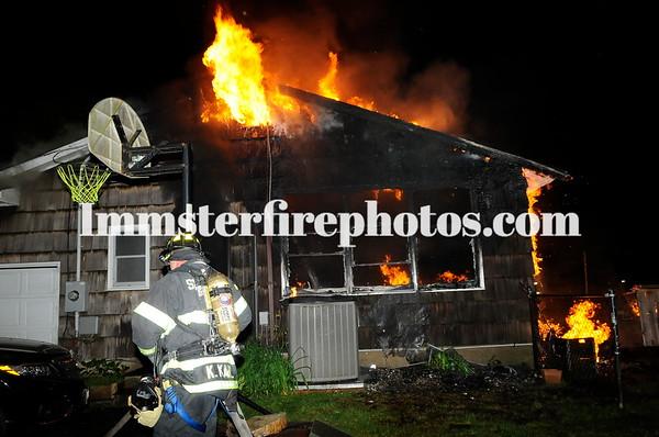 SYOSSET FD WOODBURY HOUSE FIRE 6-13-18