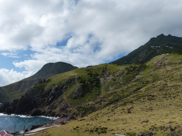 Coastal view of Saba