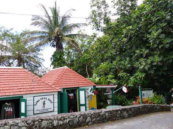 Saba Trail Shop, Saba Conservation Foundation