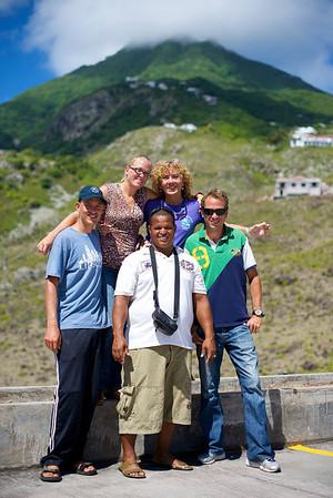 Bonaire-Saba Ranger exchange, Saba (2014)