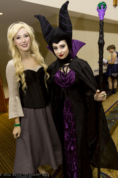 Briar Rose and Maleficent