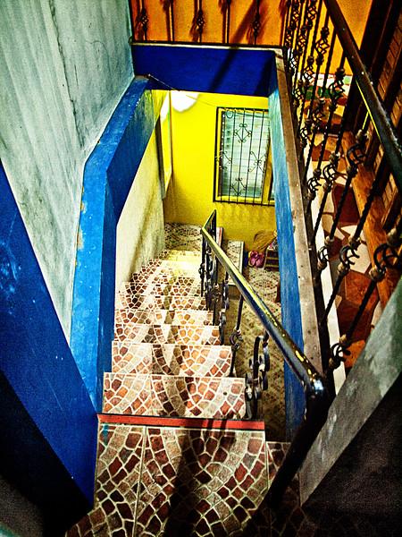 82-mosaic steps