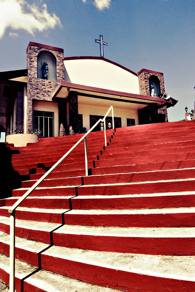 59-Red Steps