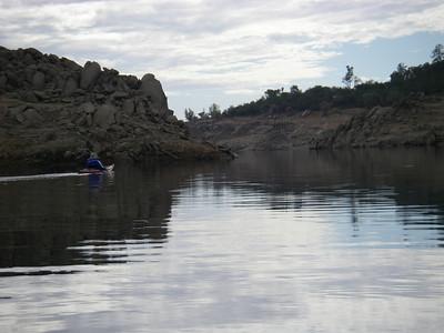 20081018 Folsom Lake Paddle