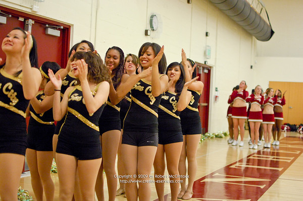 American River College: Cheer -- 01/05/10