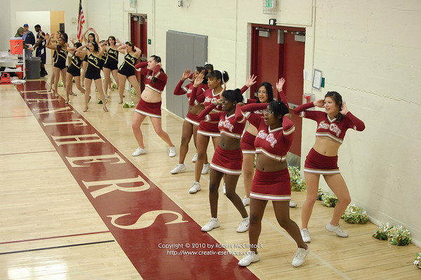 Cosumnes River College: Cheer -- 01/15/10