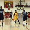 Sacramento City College men's basketball vs Diablo Valley College at SCC, January 22, 2010 -- Photo by Robert McClintock (c) 2010 by Robert McClintock --