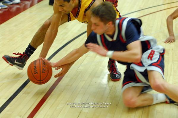 Santa Rosa Junior College: The Game -- 02/19/10 FINAL SCORE = 66-78L