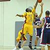 Sacramento City College Men's basketball vs Delta College -- Sacramento, CA, February 19, 2010 -- Photo by Robert McClintock (c) 2010 by Robert McClintock --