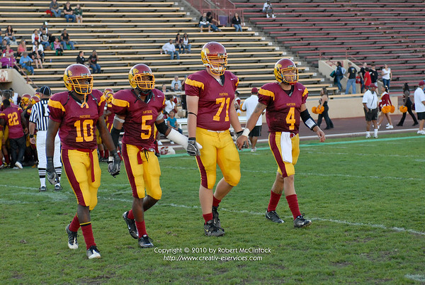 Diablo Valley College: Pregame -- 10/09/10
