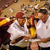 Sacramento City College vs Diablo Valley College at Hughes Stadium, Sacramento, CA, October 09, 2010 -- Photo by Robert McClintock (c) 2010 by Robert McClintock