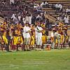 Sacramento City College vs Modesto Junior College at Hughes Stadium, Sacramento, CA, September 11, 2010 -- Photo by Robert McClintock (c) 2010 by Robert McClintock