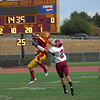 Sacramento City College vs Sierra College at Hughes Stadium, Sacramento, CA, September 11, 2009 -- Photo by Robert McClintock (c) 2009 by Robert McClintock