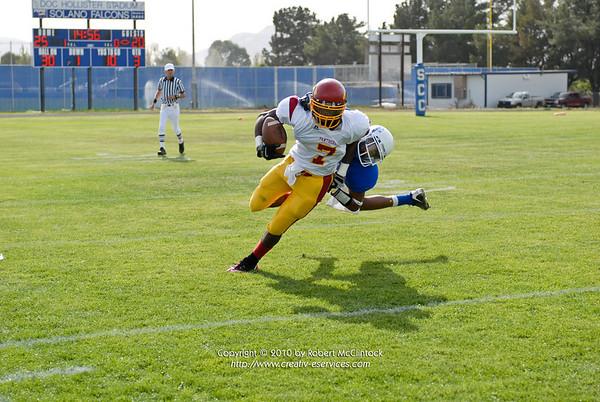 Solano College: The Game -- 10/16/10 FINAL SCORE = 40-34L