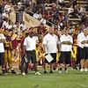 Sacramento City College vs Yuba College at Hughes Stadium, Sacramento, CA, September 25, 2010 -- Photo by Robert McClintock (c) 2010 by Robert McClintock