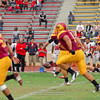 Sacramento City College vs Fresno College at Hughes Stadium, Sacramento, CA, October 01, 2011 -- Photo by Robert McClintock (c) 2011 by Robert McClintock
