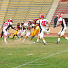 Sacramento City College vs Fresno College at Hughes Stadium, Sacramento, CA, October 01, 2011 -- Photo by Robert McClintock (c) 2011 by Robert McClintock