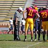 Sacramento City College vs Menocino College at Hughes Stadium, Sacramento, CA, October 29, 2011 -- Photo by Robert McClintock (c) 2011 by Robert McClintock