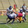 Sacramento City College vs Menocino College at Hughes Stadium, Sacramento, CA, October 29, 2011 -- Photo by Robert McClintock (c) 2011 by Robert McClintock