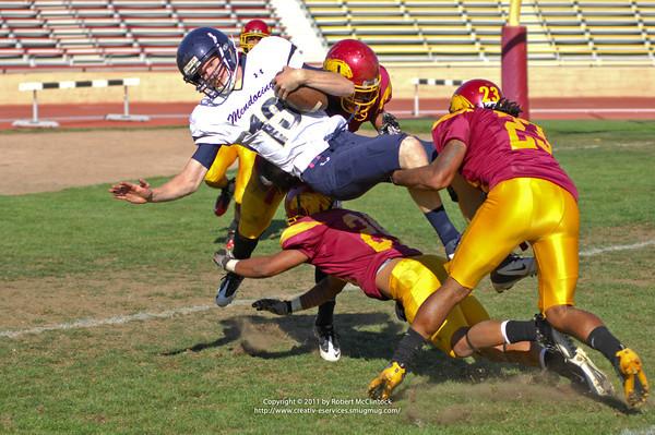 Mendocino College: The Game -- 10/29/11 FINAL SCORE = 16-12L
